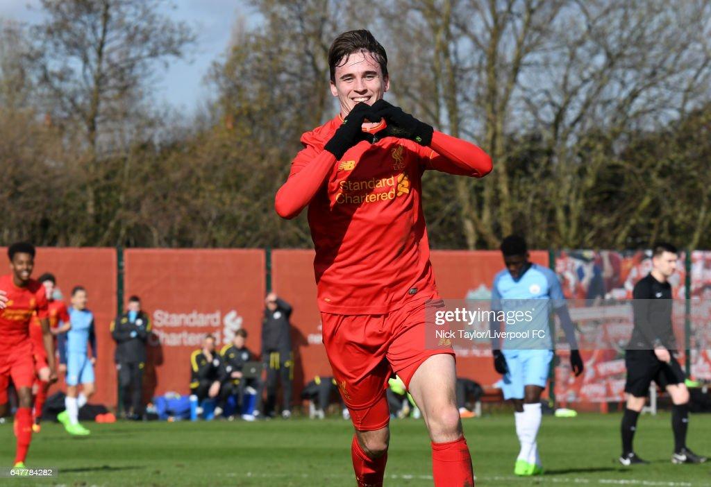 Liverpool v Manchester City: U18 Premier League : ニュース写真