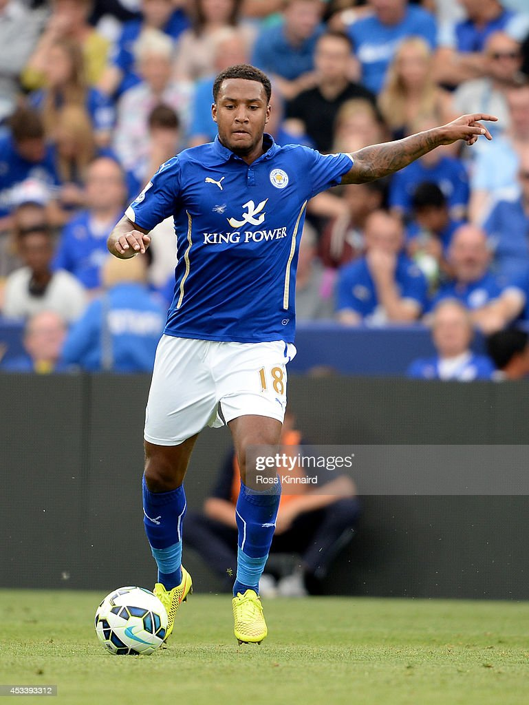 Liam Moore of Leicester City in action during the pre season friendly match between Leicester City and Werder Bremen at The King Power Stadium on August 9, 2014 in Leicester, England.