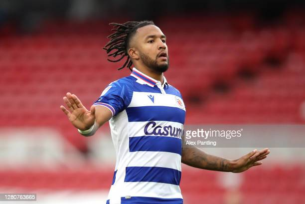 Liam Moore of Reading during the Sky Bet Championship match between Middlesbrough and Reading at Riverside Stadium on October 17 2020 in...
