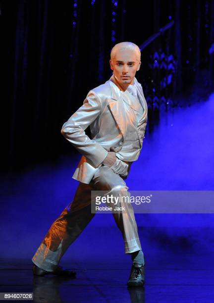 Liam Mower as The Angel in Matthew Bourne's Cinderella at Sadler's Wells Theatre on December 15 2017 in London England