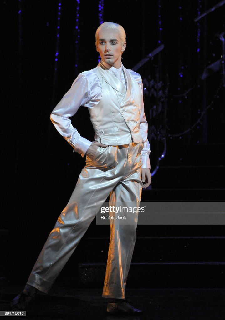 Liam Mower as The Angel in Matthew Bourne's Cinderella at Sadler's Wells Theatre on December 15, 2017 in London, England.