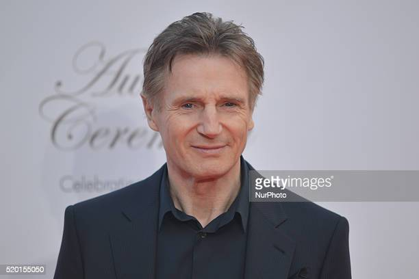 Liam Neeson a Northern Irish actor arrives for this year's edition of the IFTA 2016 Film amp Drama Awards at the Mansion House in Dublin Dublin...