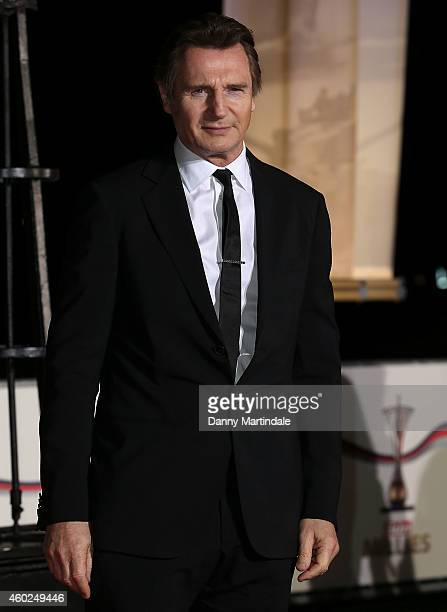 Liam Neeson attends A Night Of Heroes: The Sun Military Awards at National Maritime Museum on December 10, 2014 in London, England.