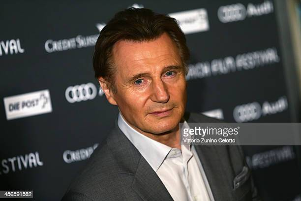 Liam Neeson attends the 'A walk amongst the Tombstones' Press Conference during Day 9 of Zurich Film Festival 2014 on October 3 2014 in Zurich...