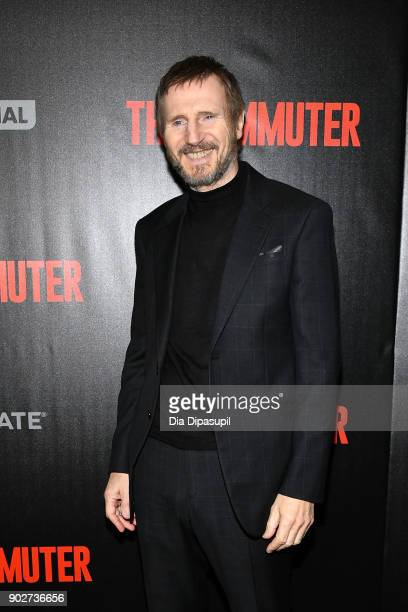 Liam Neeson attends 'The Commuter' New York premiere at AMC Loews Lincoln Square on January 8 2018 in New York City