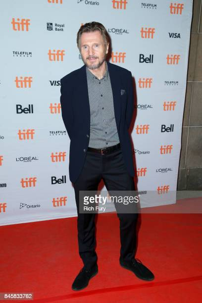 Liam Neeson attends the Mark Felt The Man Who Brought Down The White Housepremiere during the 2017 Toronto International Film Festival at Ryerson...