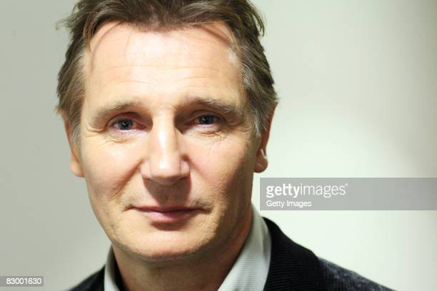 Liam Neeson attends the premiere of 'Taken' for the TCM Crime Scene Festival at the BFI on September 24 2008 in London England