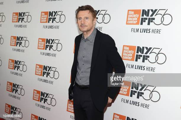 Liam Neeson attends the premiere of The Ballad of Buster Scruggs at Alice Tully Hall Lincoln Center on October 4 2018 in New York City
