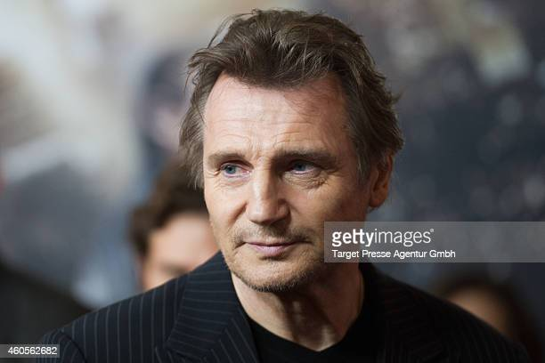 Liam Neeson attends the premiere of the film '96 Hours Taken 3' at Zoo Palast on December 16 2014 in Berlin Germany