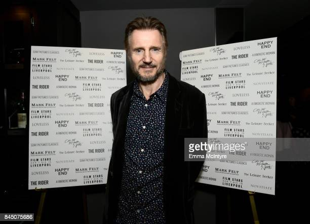 Liam Neeson attends the Sony Pictures Classics TIFF Celebration Dinner 2017 at Morton's on September 9 2017 in Toronto Canada