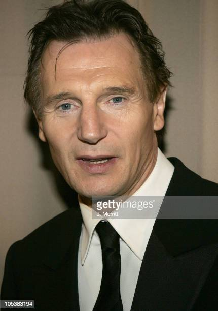 Liam Neeson during Glamour/Miramax Post Golden Globe Awards Party at Beverly Hills Hilton in Beverly Hills California United States