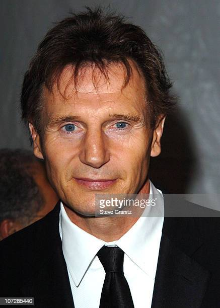 Liam Neeson during Palm Springs International Film Festival Awards Gala presented by Tiffany Co Arrivals at Palm Springs Convention Center in Palm...