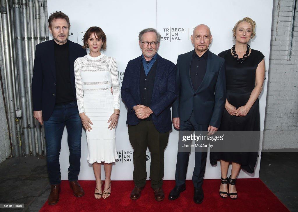 'Schindler's List' Cast Reunion - 2018 Tribeca Film Festival : News Photo
