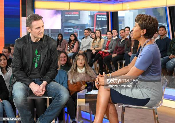 Liam Neeson is a guest on 'Good Morning America' Tuesday Feb 5 airing on the ABC Television Network GMA19 LIAM