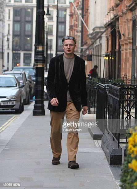 Liam Neeson is seen on March 27 2011 in London United Kingdom