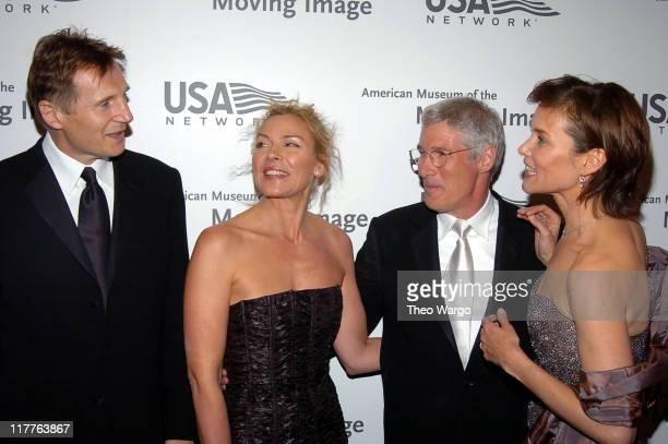Liam Neeson Kim Cattrall Richard Gere and Carey Lowell