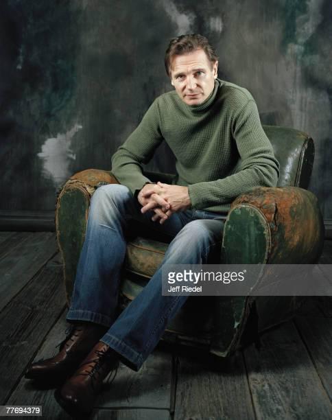 Liam Neeson Liam Neeson by Jeff Riedel Liam Neeson Entertainment Weekly November 12 2004