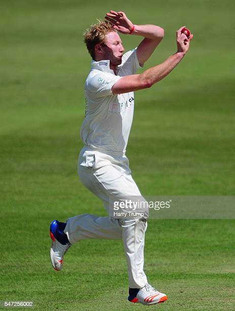 Liam Norwell of Gloucestershire during Day Two of the Specsavers County Championship Division Two match between Gloucestershire and Essex at The...