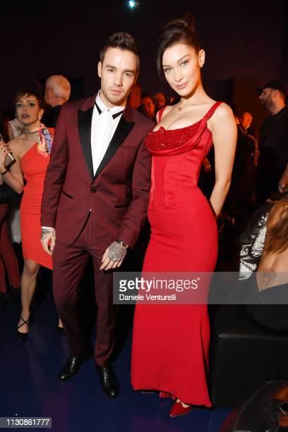 Liam Payne and Bella Hadid attends the Bvlgari BZERO1 XX Anniversary Global Launch Event at Auditorium Parco Della Musica on February 19 2019 in Rome...