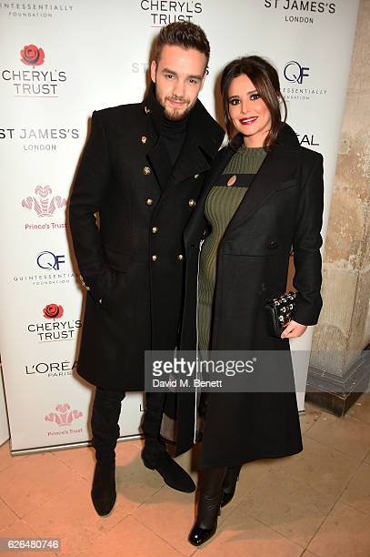 Liam Payne and Cheryl attend the Fayre of St James's hosted by Quintessentially Foundation and the Crown Estate in aid of Cheryl's Trust in support...