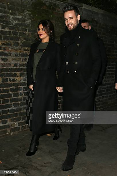 Liam Payne and Cheryl attending The Fayre of St James's Church on November 29 2016 in London England
