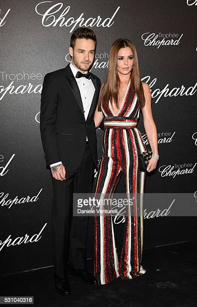 Liam Payne and Cheryl Cole attend the Chopard Trophy Ceremony during The 69th Annual Cannes Film Festival on May 12 2016 in Cannes