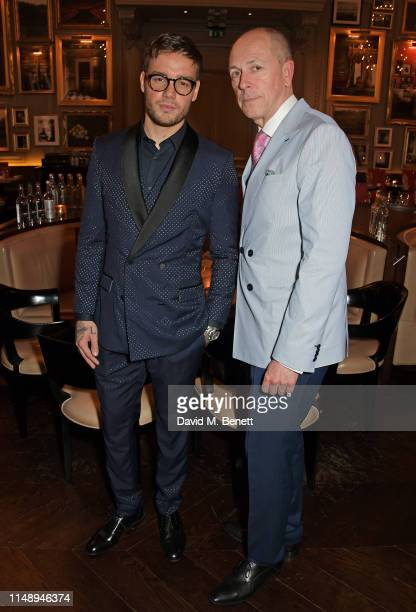 Liam Payne and Editor of GQ Dylan Jones attend the British GQ LFWM dinner hosted by Dylan Jones and Liam Payne with HUGO during London Fashion Week...