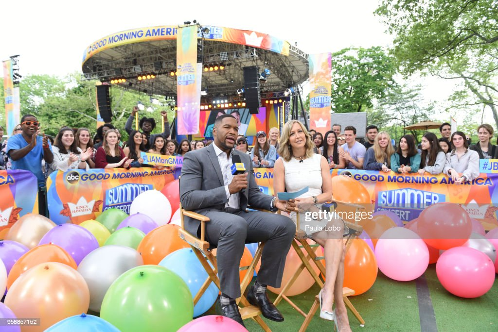 AMERICA - Liam Payne and J Balvin perform live from Central Park to kick off the Summer Concert Series on 'Good Morning America,' Tuesday, May 15, 2018, airing on the ABC Television Network. MICHAEL