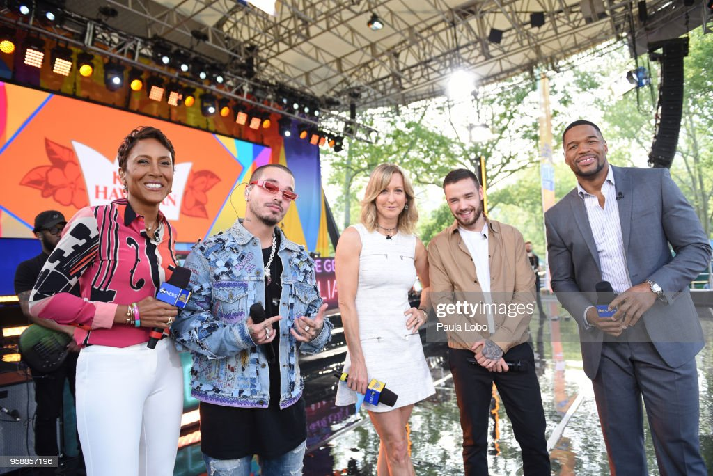 AMERICA - Liam Payne and J Balvin perform live from Central Park to kick off the Summer Concert Series on 'Good Morning America,' Tuesday, May 15, 2018, airing on the ABC Television Network. ROBIN