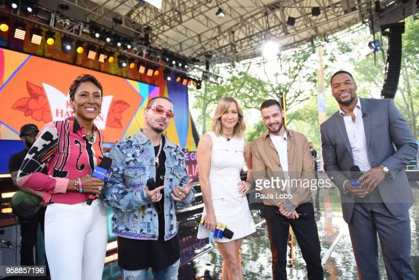AMERICA Liam Payne and J Balvin perform live from Central Park to kick off the Summer Concert Series on 'Good Morning America' Tuesday May 15 airing...