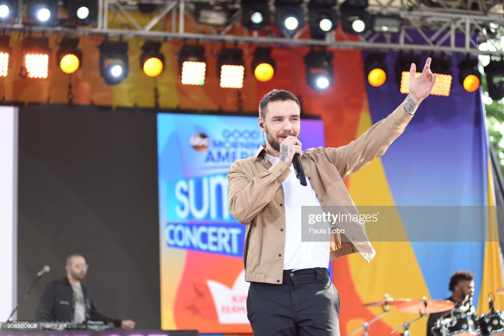 AMERICA - Liam Payne and J Balvin perform live from Central Park to kick off the Summer Concert Series on 'Good Morning America,' Tuesday, May 15, 2018, airing on the ABC Television Network. LIAM