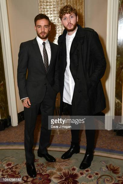 Liam Payne and James Arthur attend the BMI Awards at The Dorchester on October 1 2018 in London England