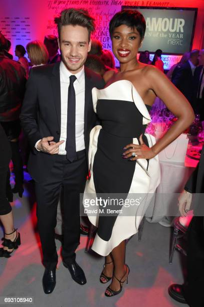 Liam Payne and Jennifer Hudson attend the Glamour Women of The Year Awards 2017 in Berkeley Square Gardens on June 6 2017 in London England