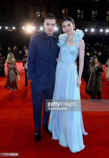 Liam Payne and Maya Henry arrive at The Fashion Awards 2019 held at Royal Albert Hall on December 02 2019 in London England