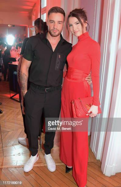 Liam Payne and Maya Henry attend the ESCADA x RITA ORA capsule launch event during Paris Fashion Week on September 29 2019 in Paris France