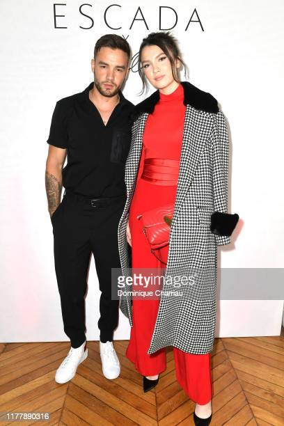Liam Payne and Maya Henry attend the ESCADA x RITA ORA Capsule Launch as part of Paris Fashion Week on September 29 2019 in Paris France