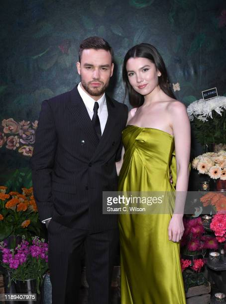 Liam Payne and Maya Henry attend the gala dinner in honour of Edward Enninful, winner of the Global VOICES Award 2019, during #BoFVOICES on November...