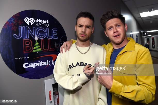Liam Payne and Niall Horan attend 1027 KIIS FM's Jingle Ball 2017 presented by Capital One at The Forum on December 1 2017 in Inglewood California