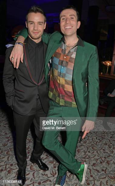 Liam Payne and Nick Grimshaw attend the Universal Music BRIT Awards After Party 2019 hosted by Soho House and BACARDI rum at The Ned on February 20,...