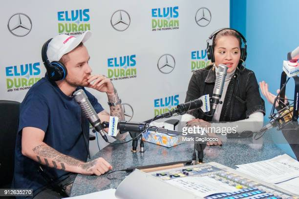 Liam Payne and Rita Ora attend 'The Elvis Duran Z100 Morning Show' at Z100 Studio on January 31 2018 in New York City