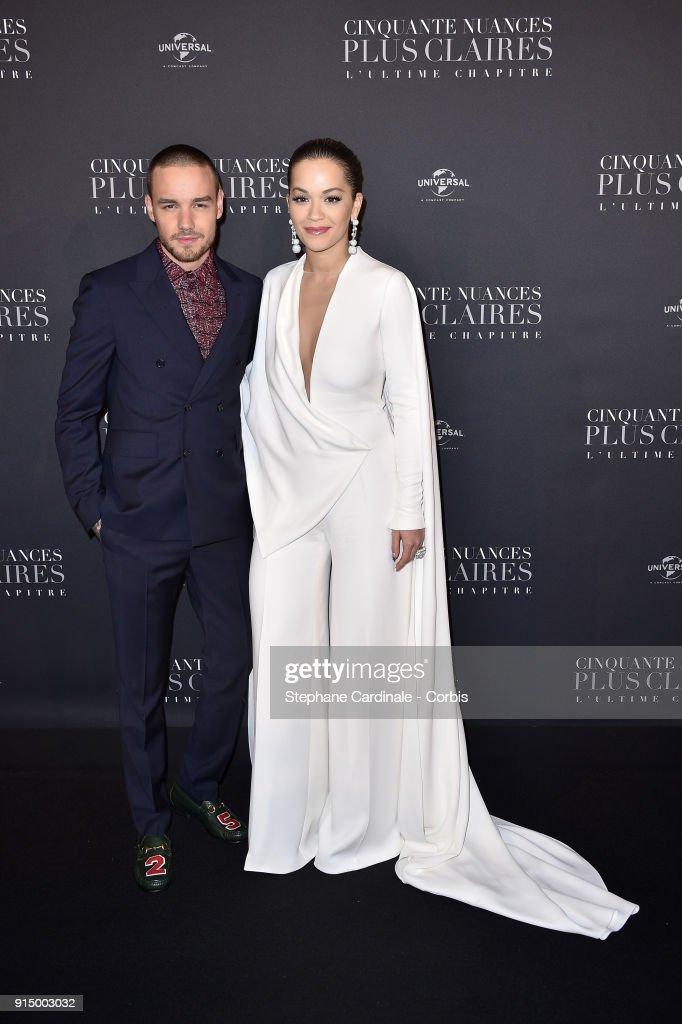 """""""Fifty Shades Freed - 50 Nuances Plus Claires"""" Paris Premiere At Salle Pleyel"""