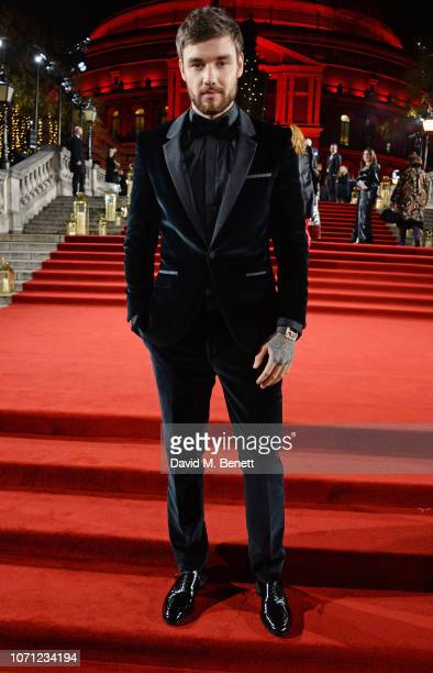 Liam Payne arrives at The Fashion Awards 2018 in partnership with Swarovski at the Royal Albert Hall on December 10 2018 in London England