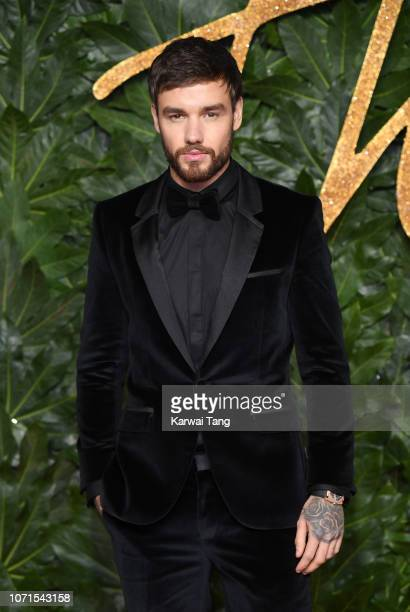 Liam Payne arrives at The Fashion Awards 2018 In Partnership With Swarovski at Royal Albert Hall on December 10 2018 in London England