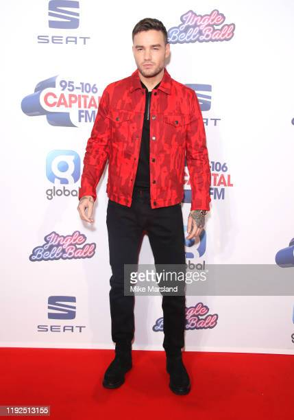 Liam Payne attends Capital's Jingle Bell Ball 2019 at The O2 Arena on December 07, 2019 in London, England.