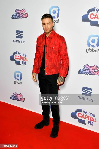 Liam Payne attends Capital's Jingle Bell Ball 2019 with SEAT at The O2 Arena on December 07 2019 in London England