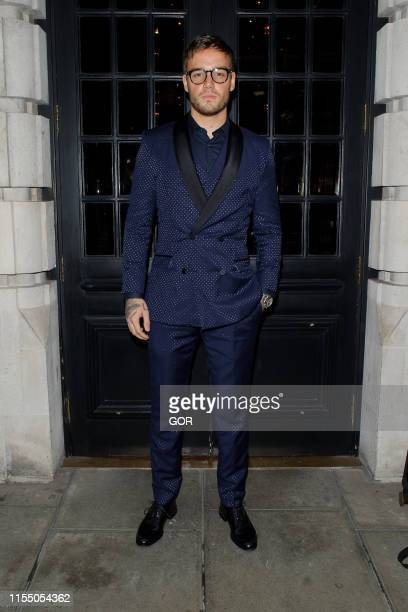 Liam Payne attends GQ Private Dinner at Berners Tavern during LFWM June 2019 on June 10 2019 in London England
