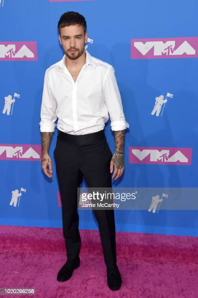 Liam Payne attends the 2018 MTV Video Music Awards at Radio City Music Hall on August 20 2018 in New York City