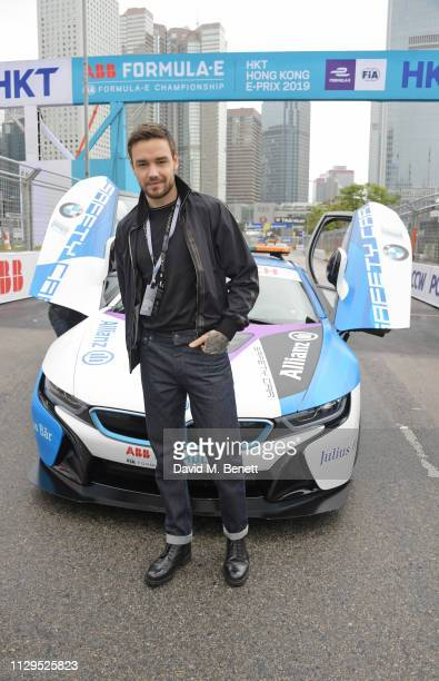 Liam Payne attends the ABB FIA Formula E HKT Hong Kong EPrix on March 10 2019 in Hong Kong