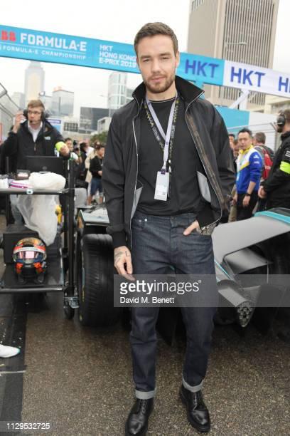 Liam Payne attends the ABB FIA Formula E HKT Hong Kong EPrix on March 10 2019 in Hong Kong