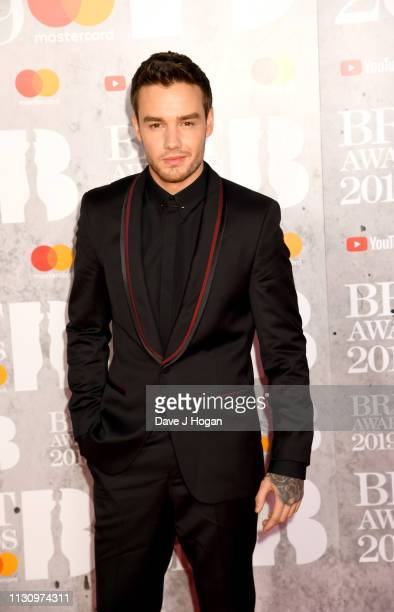 Liam Payne attends The BRIT Awards 2019 held at The O2 Arena on February 20 2019 in London England
